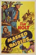 Masked Raiders - 27 x 40 Movie Poster - Style A