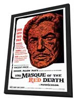 Masque of the Red Death - 27 x 40 Movie Poster - Style A - in Deluxe Wood Frame