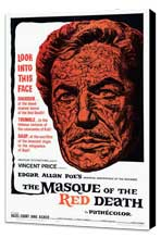 Masque of the Red Death - 27 x 40 Movie Poster - Style A - Museum Wrapped Canvas