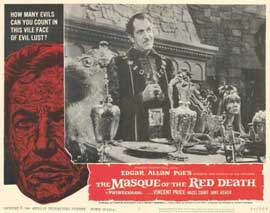 Masque of the Red Death - 11 x 14 Movie Poster - Style A