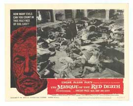 Masque of the Red Death - 11 x 14 Movie Poster - Style E