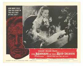 Masque of the Red Death - 11 x 14 Movie Poster - Style F