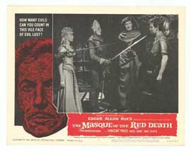 Masque of the Red Death - 11 x 14 Movie Poster - Style G