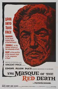 Masque of the Red Death - 43 x 62 Movie Poster - Bus Shelter Style A