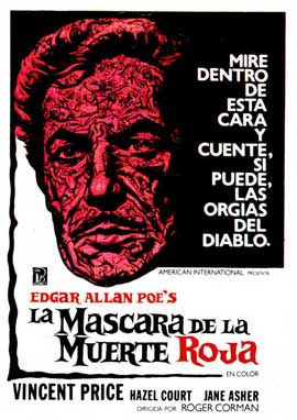 Masque of the Red Death - 11 x 17 Movie Poster - Spanish Style A