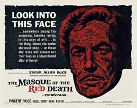 Masque of the Red Death - 22 x 28 Movie Poster - Half Sheet Style A