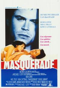 Masquerade - 11 x 17 Movie Poster - Belgian Style A