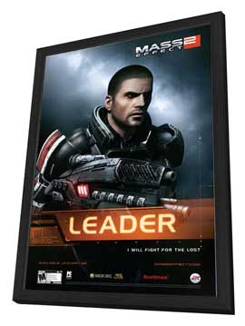 Mass Effect 2 - 11 x 17 Movie Poster - Style A - in Deluxe Wood Frame