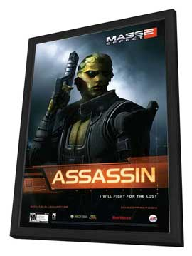 Mass Effect 2 - 11 x 17 Movie Poster - Style C - in Deluxe Wood Frame