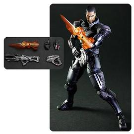 Mass Effect 2 - 3 Commander Shepard Play Arts Kai Action Figure