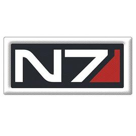 Mass Effect 2 - N7 Logo Embroidered Patch