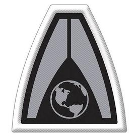 Mass Effect 2 - System Alliance Logo Embroidered Patch