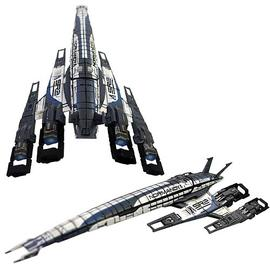 Mass Effect 2 - SSV Normandy Ship Replica