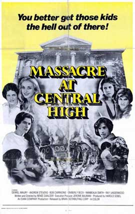 Massacre at Central High - 11 x 17 Movie Poster - Style A