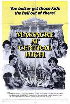 Massacre at Central High - 27 x 40 Movie Poster - Style A