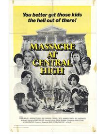 Massacre at Central High - 43 x 62 Movie Poster - Bus Shelter Style A