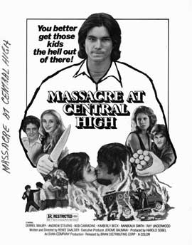 Massacre at Central High - 11 x 17 Movie Poster - Style B