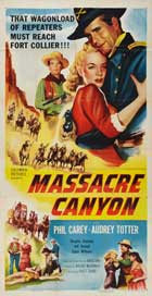 Massacre Canyon - 20 x 40 Movie Poster - Style A