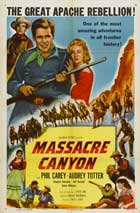 Massacre Canyon - 11 x 17 Movie Poster - Style A