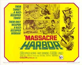 Massacre Harbor - 11 x 14 Movie Poster - Style C