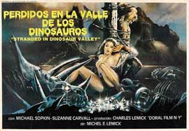 Massacre in Dinosaur Valley - 22 x 28 Movie Poster - Half Sheet Style A