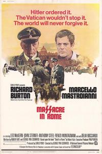 Massacre in Rome - 11 x 17 Movie Poster - Style A