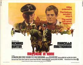 Massacre in Rome - 11 x 14 Movie Poster - Style A