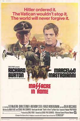 Massacre in Rome - 27 x 40 Movie Poster - Style A