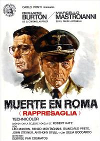 Massacre in Rome - 27 x 40 Movie Poster - Spanish Style A
