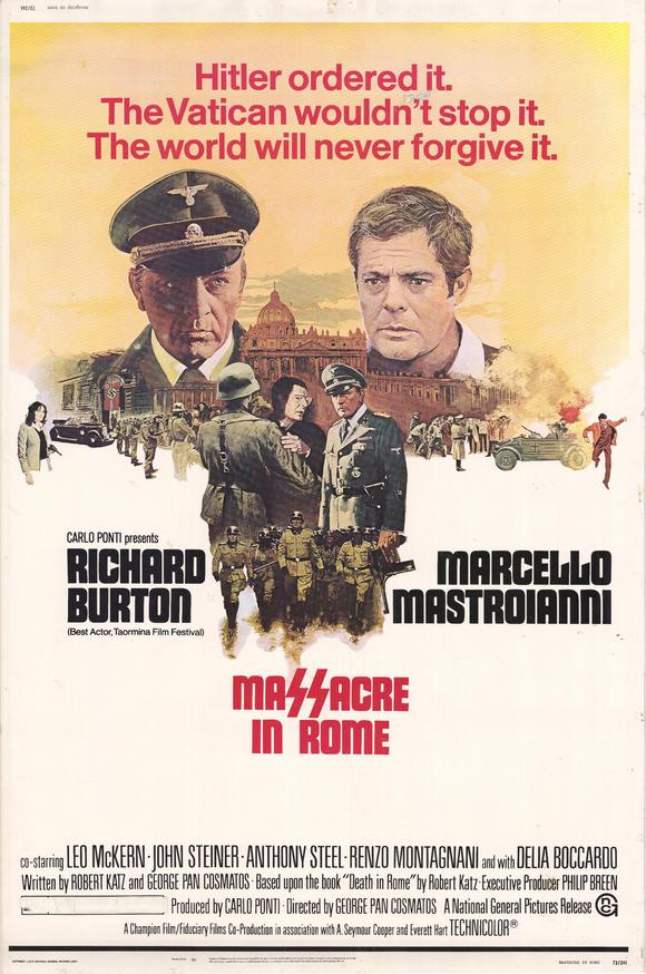 Massacre in Rome movie