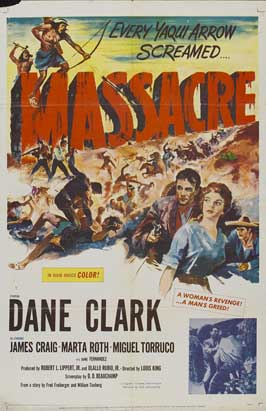 Massacre - 27 x 40 Movie Poster - Style B
