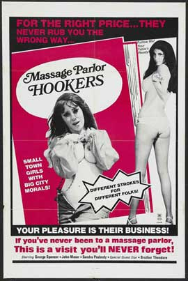 Massage Parlor Hookers - 27 x 40 Movie Poster - Style A