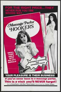 Massage Parlor Hookers - 43 x 62 Movie Poster - Bus Shelter Style A
