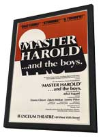 Master Harold And The Boys (Broadway) - 11 x 17 Poster - Style A - in Deluxe Wood Frame