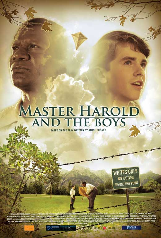 master harrold and the boys Master harold and the boys, by athol fugard focuses on 17 year old harold and his struggle to understand racial tensions in south africa during the 1950's.