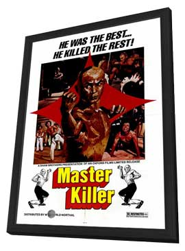 Master Killer - 27 x 40 Movie Poster - Style A - in Deluxe Wood Frame