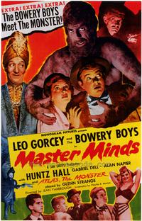 Master Minds - 43 x 62 Movie Poster - Bus Shelter Style A