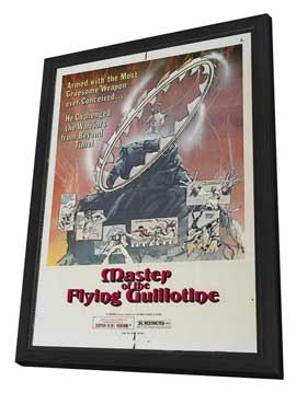Master of the Flying Guillotine - 27 x 40 Movie Poster - Style B - in Deluxe Wood Frame