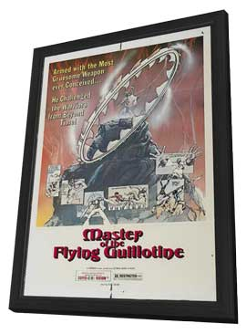 Master of the Flying Guillotine - 11 x 17 Movie Poster - Style B - in Deluxe Wood Frame