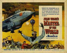 Master of the World - 22 x 28 Movie Poster - Half Sheet Style A