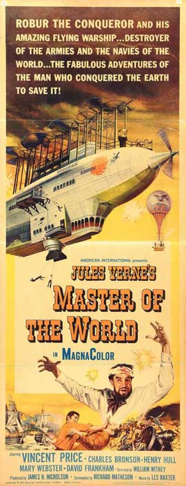 Master of the World - 14 x 36 Movie Poster - Insert Style A