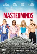 """Masterminds"" Movie Poster"