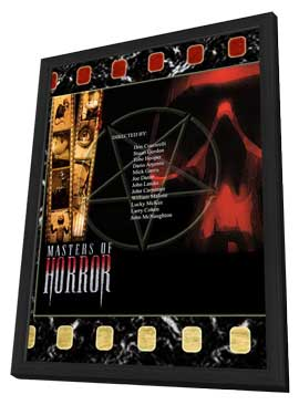 Masters of Horror - 11 x 17 Movie Poster - Style P - in Deluxe Wood Frame
