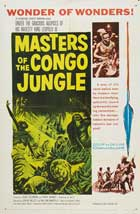 Masters of the Congo Jungle - 22 x 28 Movie Poster - Style A