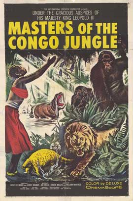 Masters of the Congo Jungle - 11 x 17 Movie Poster - Style A