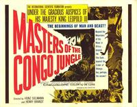 Masters of the Congo Jungle - 22 x 28 Movie Poster - Half Sheet Style A