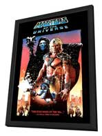 Masters of the Universe - 11 x 17 Movie Poster - Style D - in Deluxe Wood Frame
