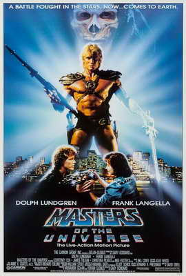 Masters of the Universe - 27 x 40 Movie Poster - Style A