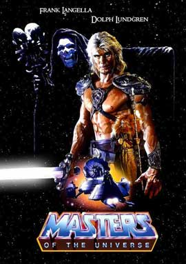 Masters of the Universe - 11 x 17 Movie Poster - Style B
