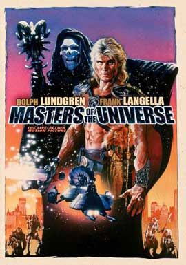 Masters of the Universe - 11 x 17 Movie Poster - Style C